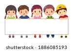 vector illustration cartoon of... | Shutterstock .eps vector #1886085193