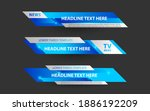 set collection vector of... | Shutterstock .eps vector #1886192209