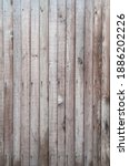Aged Brown Wooden Fence Texture....