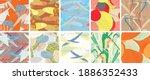 abstract vector seamless... | Shutterstock .eps vector #1886352433