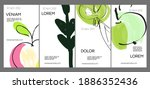 social media template layout...   Shutterstock .eps vector #1886352436