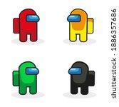 multiplayer online game...   Shutterstock .eps vector #1886357686