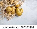Heart Shaped Potato. Potatoes...