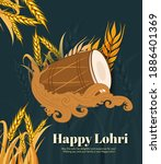 vector illustration of happy... | Shutterstock .eps vector #1886401369