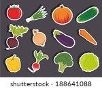 vector illustration of a... | Shutterstock .eps vector #188641088