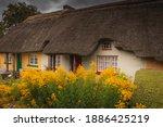 Adare  Ireland. Thatched...