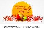 creative happy makar sankranti... | Shutterstock .eps vector #1886428483