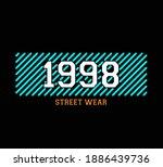 vector graphic of lettering...   Shutterstock .eps vector #1886439736