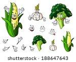 Broccoli  Garlic And Corn...