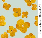 seamless background with yellow ... | Shutterstock .eps vector #188650598