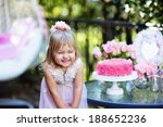 Little Girl Celebrate Happy...