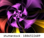 Abstract Fractal Spiral...