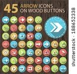 set of 45 universal... | Shutterstock .eps vector #188652338