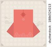 korean traditional vector... | Shutterstock .eps vector #1886524213