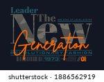 leader the new generation ... | Shutterstock .eps vector #1886562919