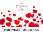 happy valentine's day seamless... | Shutterstock .eps vector #1886564929