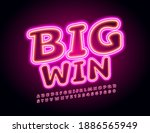 vector bright board big win.... | Shutterstock .eps vector #1886565949