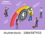 3d isometric flat vector...   Shutterstock .eps vector #1886587933