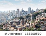 view of morro do papagaio at... | Shutterstock . vector #188660510