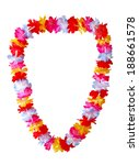 Hawaiian Lei Necklace Isolated...