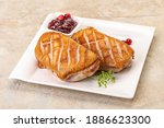Roasted Duck Breast With Berry...