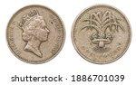 Coin 1 pound. Great Britain. 1985