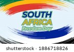 south africa freedom day ... | Shutterstock .eps vector #1886718826