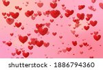Heart And Love Background  ...