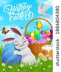Happy Easter Vector Poster ...