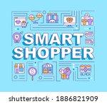 smart shopper word concepts...