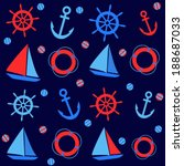 background with nautical...   Shutterstock .eps vector #188687033