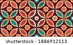 seamless arabic geometric tile... | Shutterstock .eps vector #1886912113