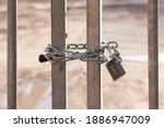 Steel Bar Gate With Strong...