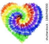 tie dye rainbow gradient... | Shutterstock .eps vector #1886948500