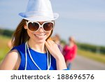 portrait of a stylish young... | Shutterstock . vector #188696576