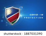 protection namibia flag...   Shutterstock .eps vector #1887031390