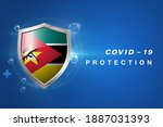 protection mozambique flag...   Shutterstock .eps vector #1887031393