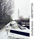 English Winter Scene In The...