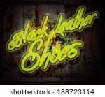neon sign illustration   Shutterstock . vector #188723114