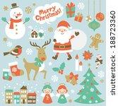 christmas | Shutterstock .eps vector #188723360