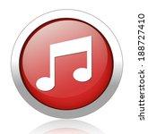 music note button   Shutterstock .eps vector #188727410