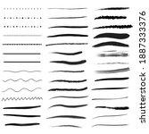 black line on white background. | Shutterstock . vector #1887333376