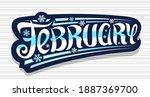 vector banner for february ...