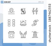 pack of 9 creative outlines of...