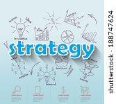business plan concept ideas | Shutterstock .eps vector #188747624