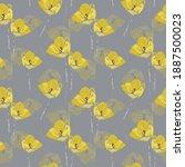 elegant seamless pattern with...   Shutterstock .eps vector #1887500023