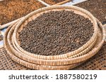 Coffee Beans Drying In The Sun...