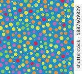 holi festival inspired paint... | Shutterstock .eps vector #1887609829