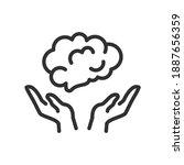psychological health  education ... | Shutterstock .eps vector #1887656359