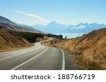 Scenic Road To Mount Cook...